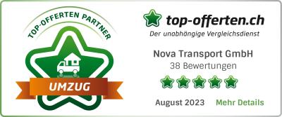 top-offerten.ch Zügelunternehmen-Vergleichsportal