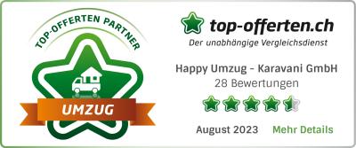 Umzugsfirmen Vergleichsportal top-offerten.ch