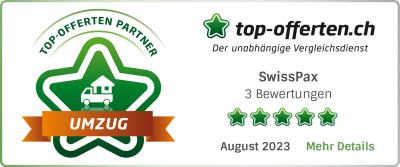 top-offerten.ch Umzugsunternehmen-Vergleichsportal